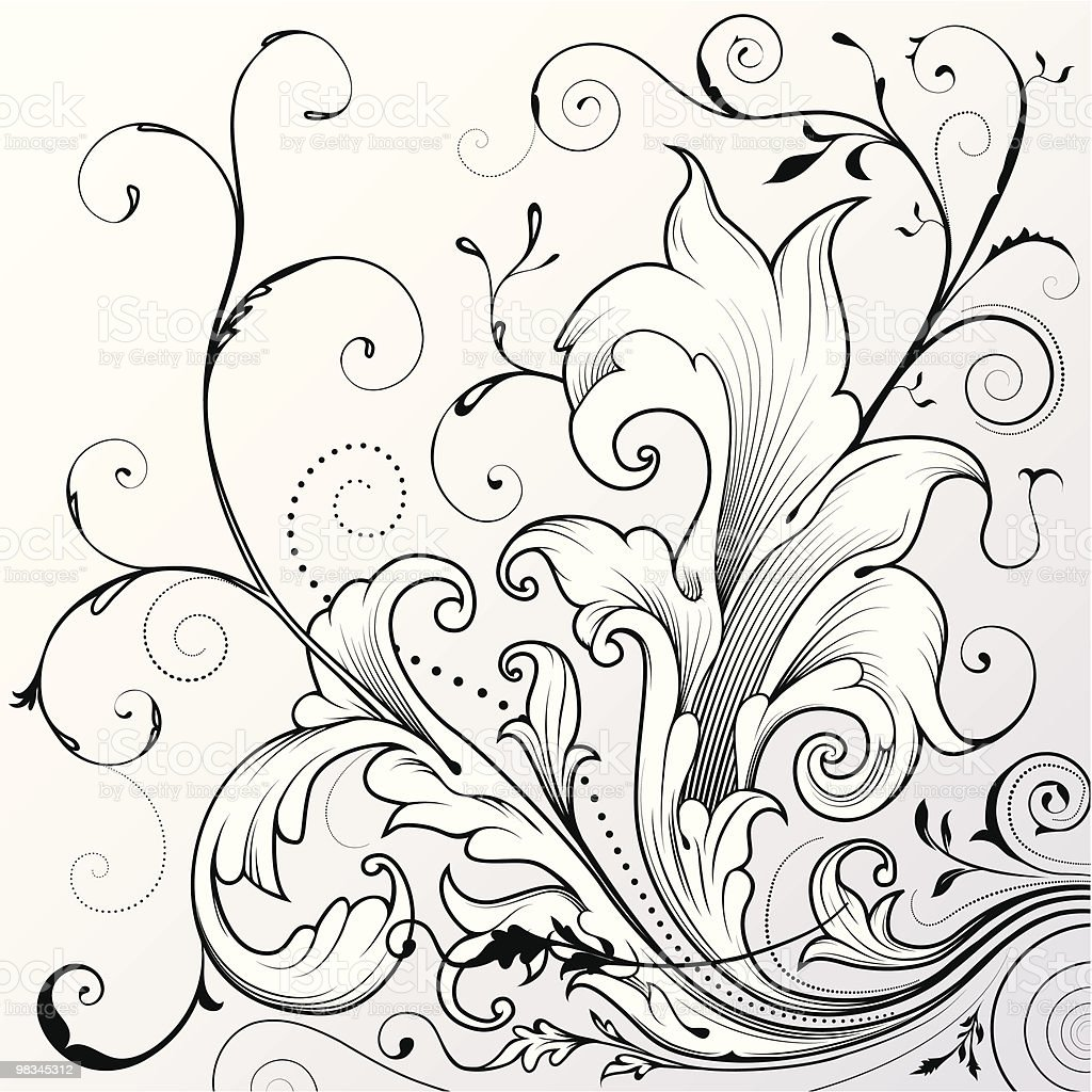 Ornamental Scrollwork royalty-free ornamental scrollwork stock vector art & more images of art