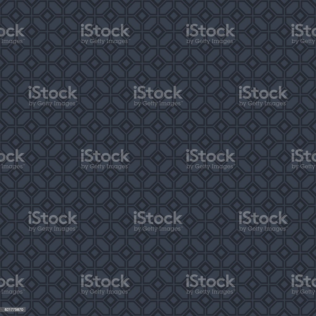 Ornamental seamless background vector art illustration