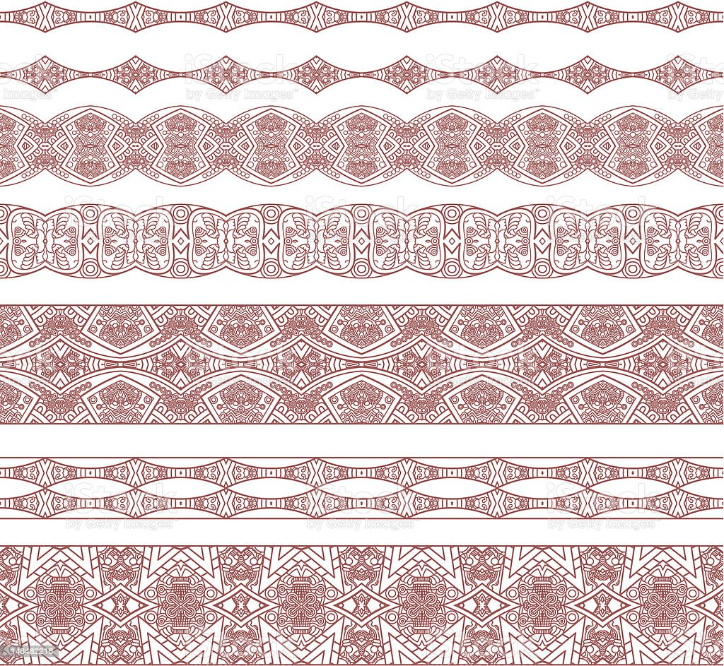 Ornamental seamless pattern royalty-free stock vector art