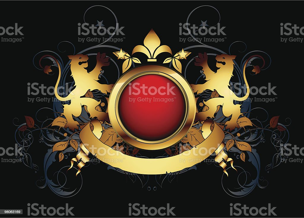 ornamental shield royalty-free ornamental shield stock vector art & more images of coat of arms