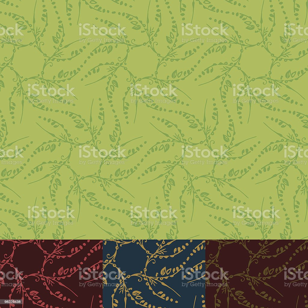 Ornamental Spring Pattern royalty-free ornamental spring pattern stock vector art & more images of abstract