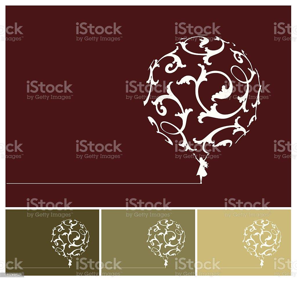 Ornamental world royalty-free stock vector art