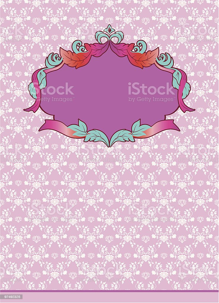 ornate background with frame royalty-free ornate background with frame stock vector art & more images of backgrounds