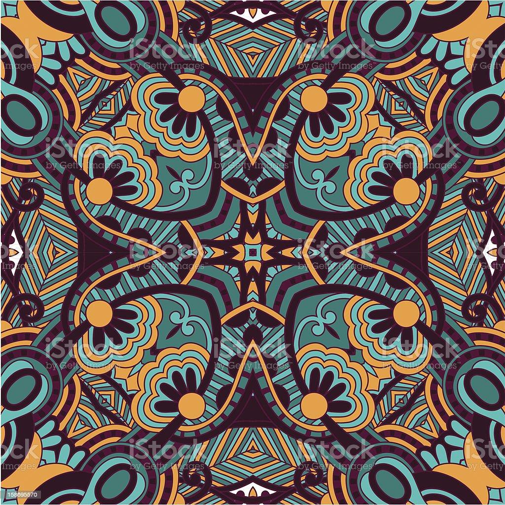 ornate bandanna royalty-free ornate bandanna stock vector art & more images of art and craft