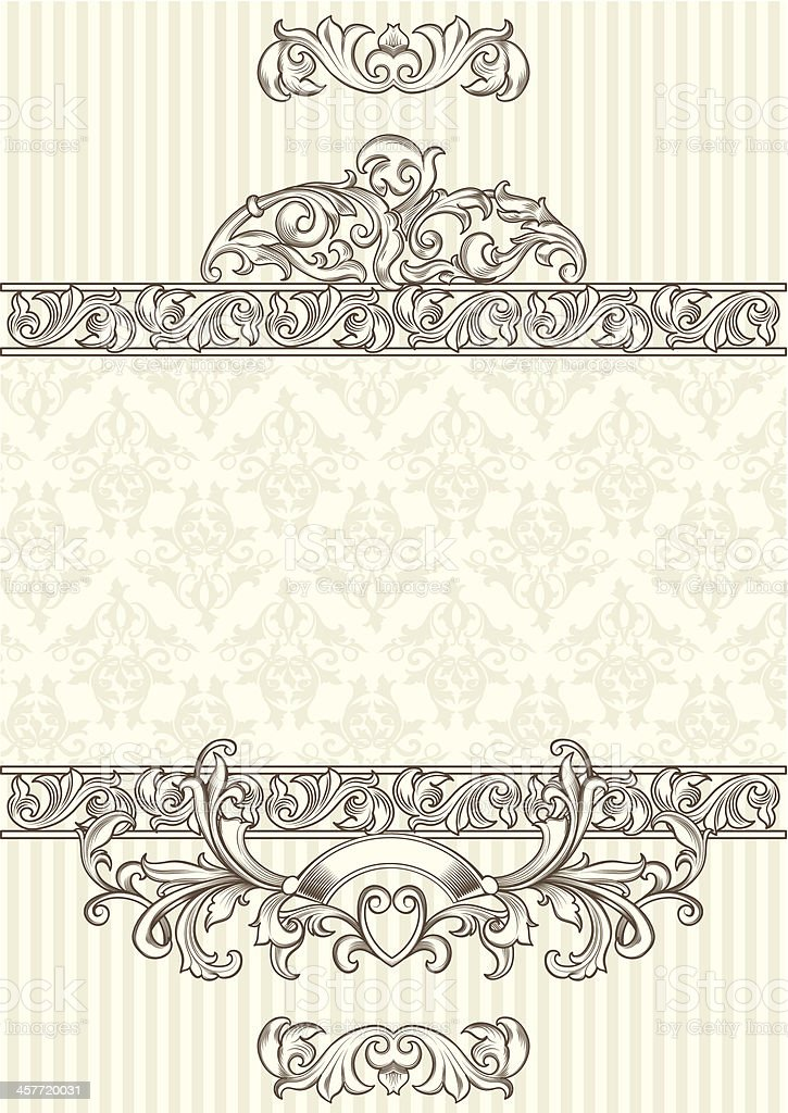 Ornate blank royalty-free ornate blank stock vector art & more images of abstract