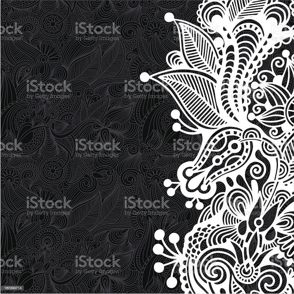 ornate card royalty-free stock vector art