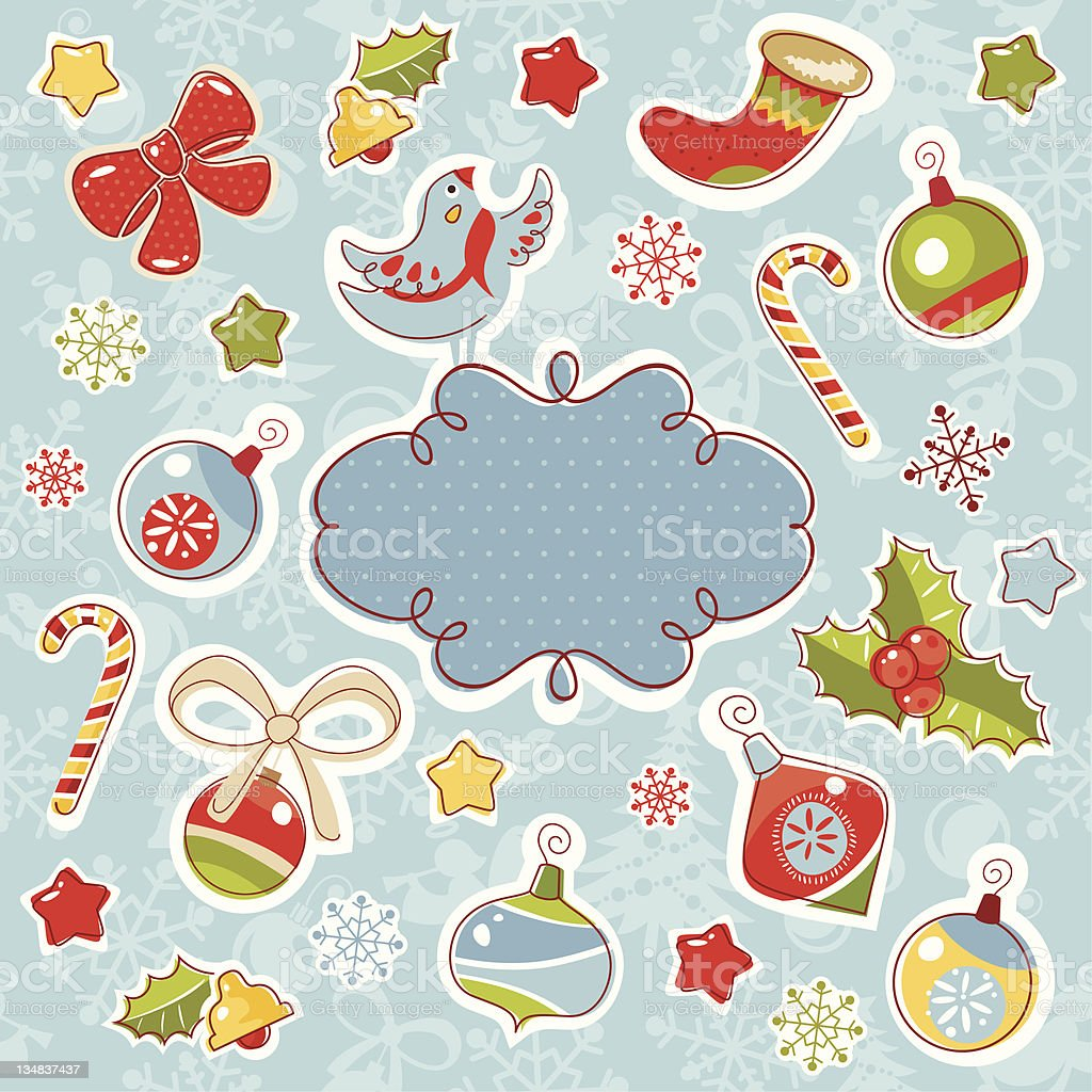 ornate christmas frame royalty-free ornate christmas frame stock vector art & more images of abstract