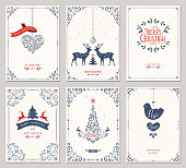 華やかなクリスマスの挨拶 Cards_01