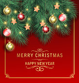 drawing of vector bright Christmas card sign. Created by illustrator cs6. This file of transparent.