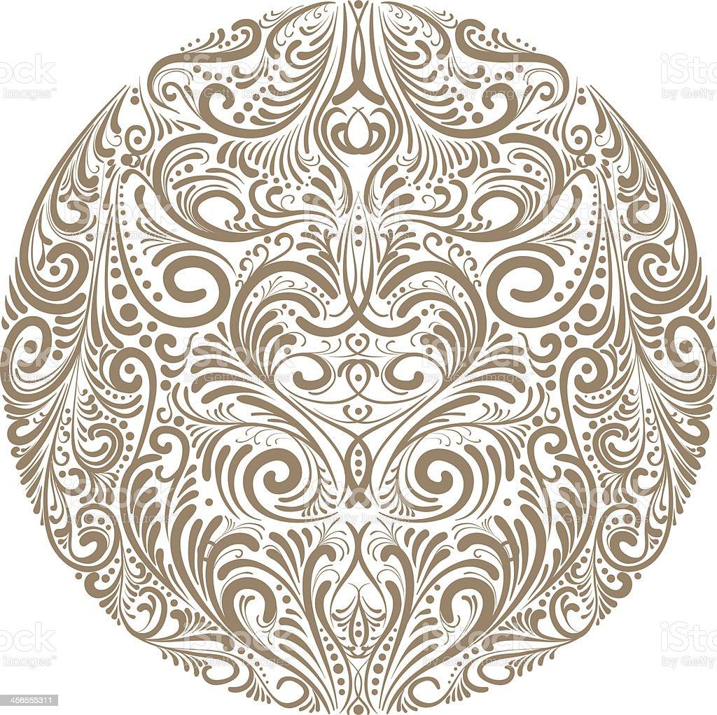 Ornate circle - Illustration