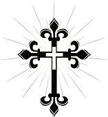 Ornate Cross (Vector)
