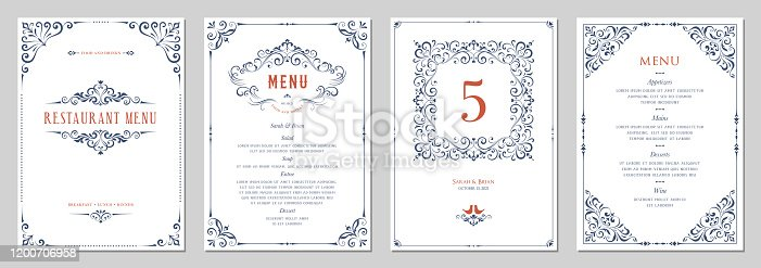 istock Ornate Design Templates_04 1200706958