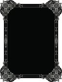 A delightful Panel design with ornate corners.All the elements are ungrouped for you to colour this design yourself. I have saved it as file formats AI ver 12, EPS ver 8, Corel Draw ver 8, PDF, and High Res Jpeg .