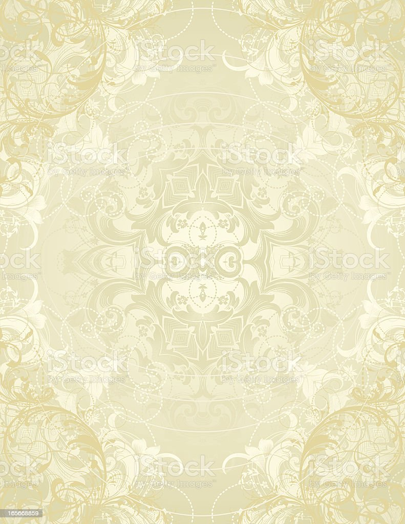 Ornate Filigree Page royalty-free stock vector art