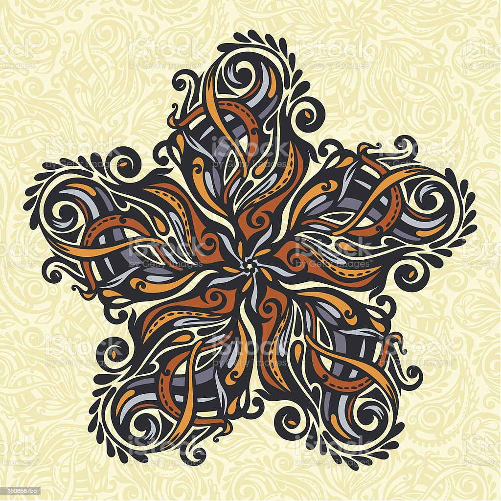 Ornate floral design element royalty-free ornate floral design element stock vector art & more images of abstract