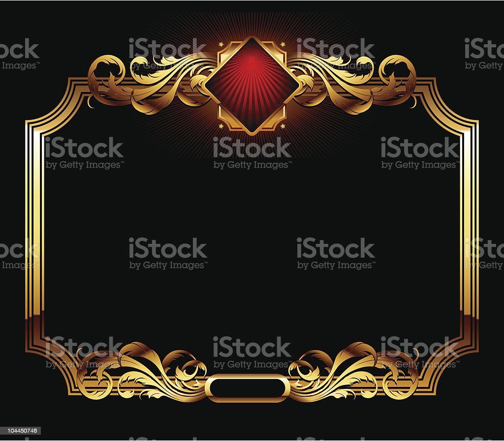ornate frame royalty-free ornate frame stock vector art & more images of backgrounds