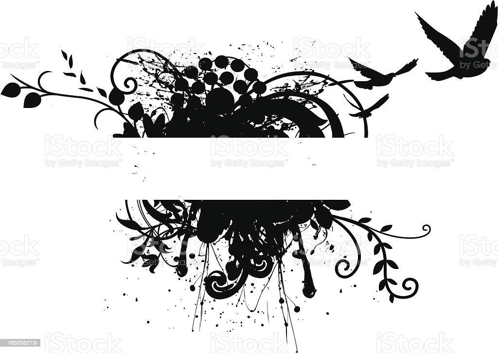 Ornate Frame vector art illustration