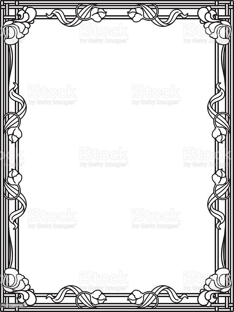 ornate frame stock vector art more images of award 472380743 istock