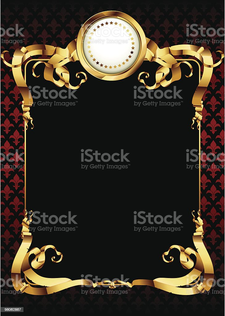 ornate frame royalty-free ornate frame stock vector art & more images of art