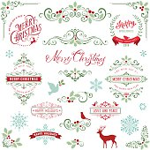 Ornate Holly Christmas Collection