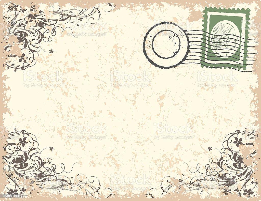 Ornate Letter royalty-free stock vector art