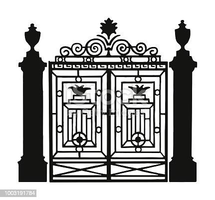 Ornate Metal Gate
