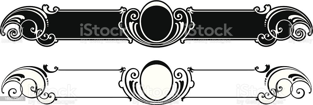 Ornate Panels royalty-free stock vector art