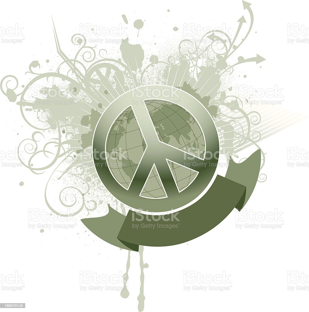 ornate peace royalty-free ornate peace stock vector art & more images of arrow symbol