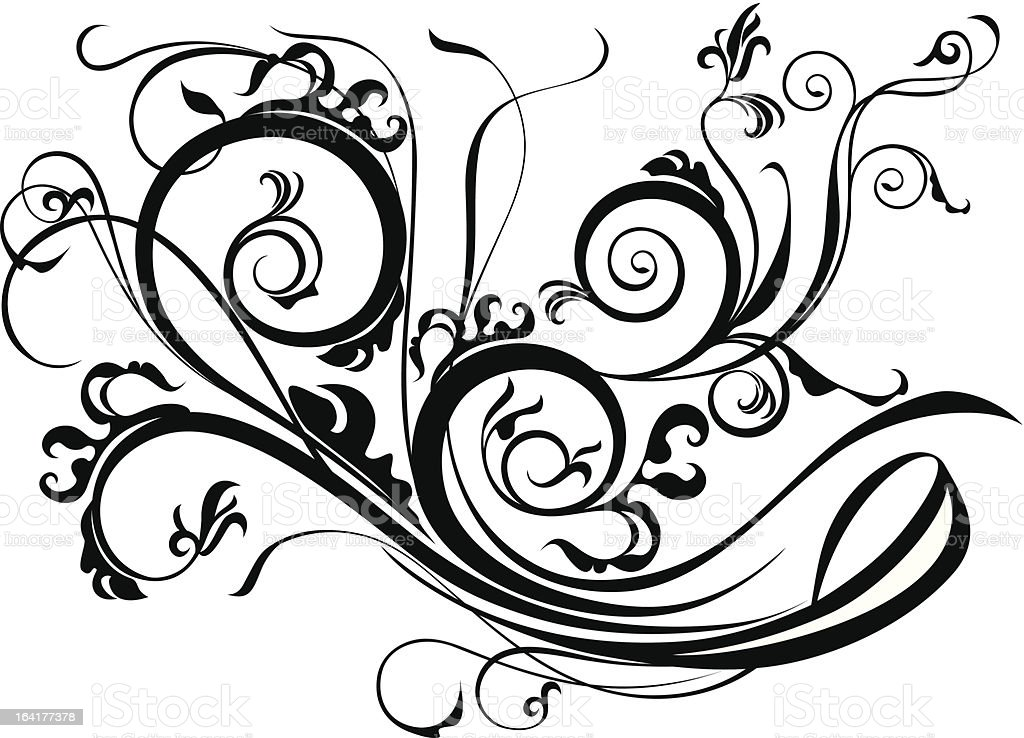 Ornate Scroll Design royalty-free ornate scroll design stock vector art & more images of abstract