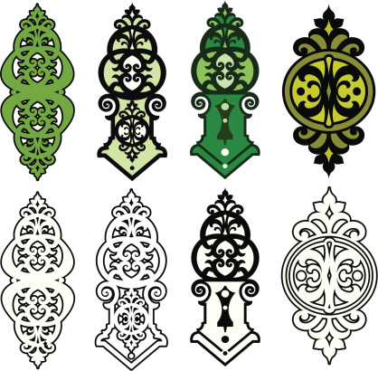 Ornate Scrolls and Panel designs
