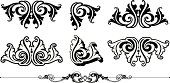Vectorized clean and crisp Victorian Accent/Scroll/Rule. Saved in: AI ver 12, EPS ver 8, PDF, high res JPG,  CorelDraw-Ver8,colour as you wish! Enjoy the file.