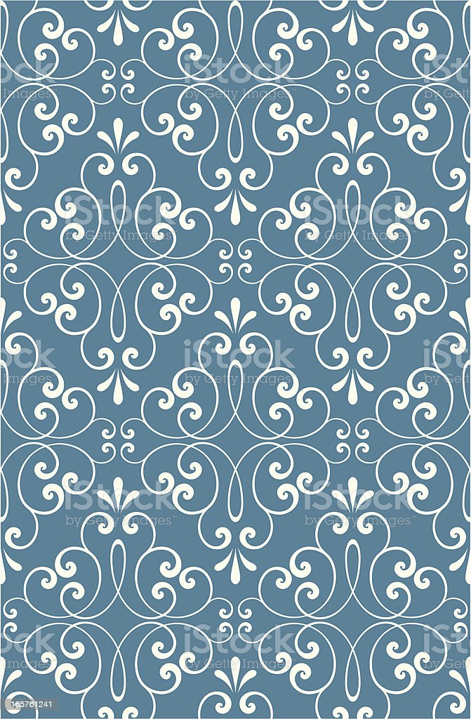 Ornate seamless pattern royalty-free stock vector art