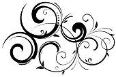 istock Ornate swirl motif 1277432524