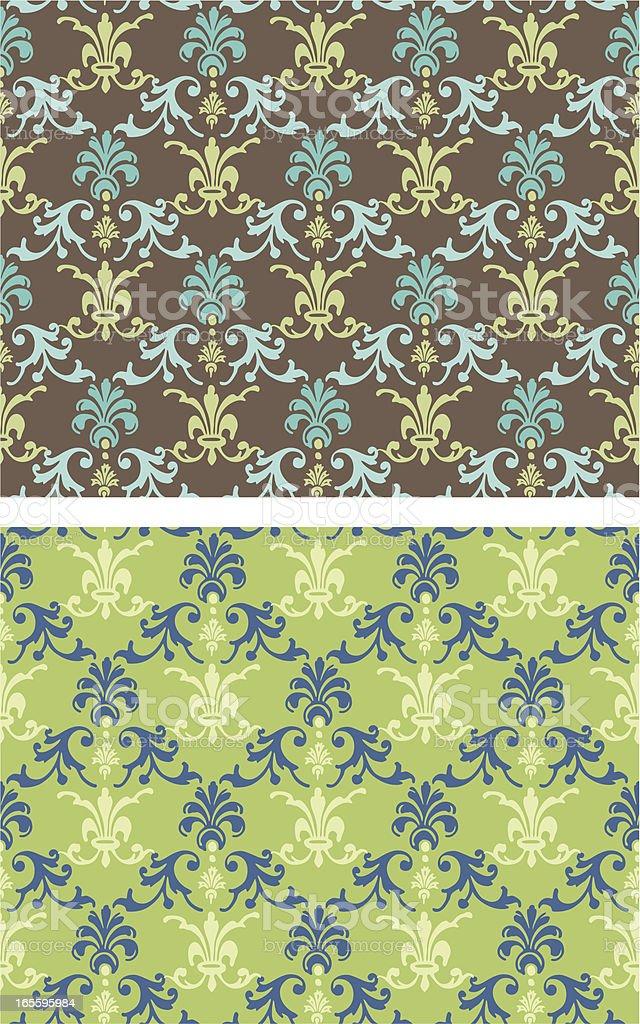Ornate Textile Design royalty-free ornate textile design stock vector art & more images of art nouveau