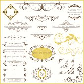Ornate Vintage Design Set