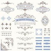 Ornate Vintage Labels