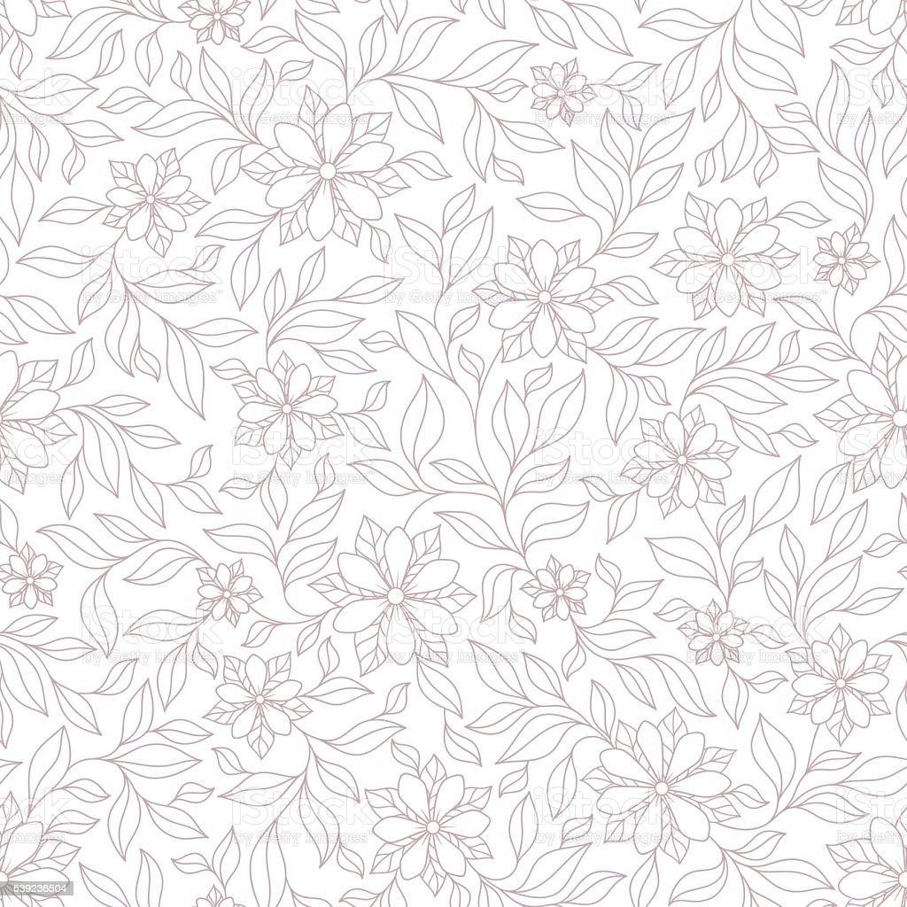 Ornamentado violeta y rosa textura transparente floral, interminables patrón ilustración de ornamentado violeta y rosa textura transparente floral interminables patrón y más banco de imágenes de abstracto libre de derechos