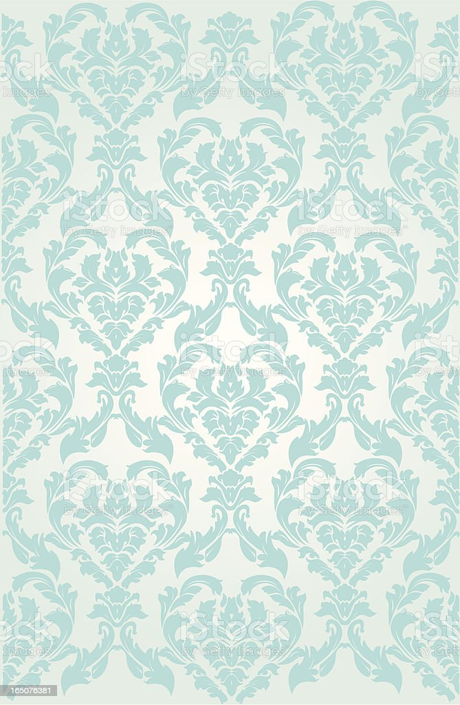 Ornate Wallpaper background royalty-free stock vector art