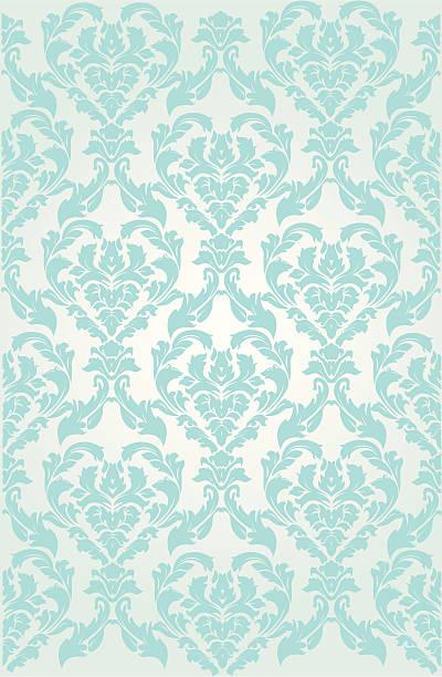 Ornate Wallpaper background seamless background shabby chic stock illustrations