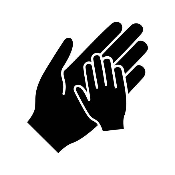 孤立グリフ アイコン - 保育点のイラスト素材/クリップアート素材/マンガ素材/アイコン素材