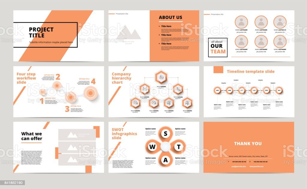 u0421orporate presentation slides design creative business