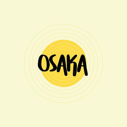 Osaka Lettering Design