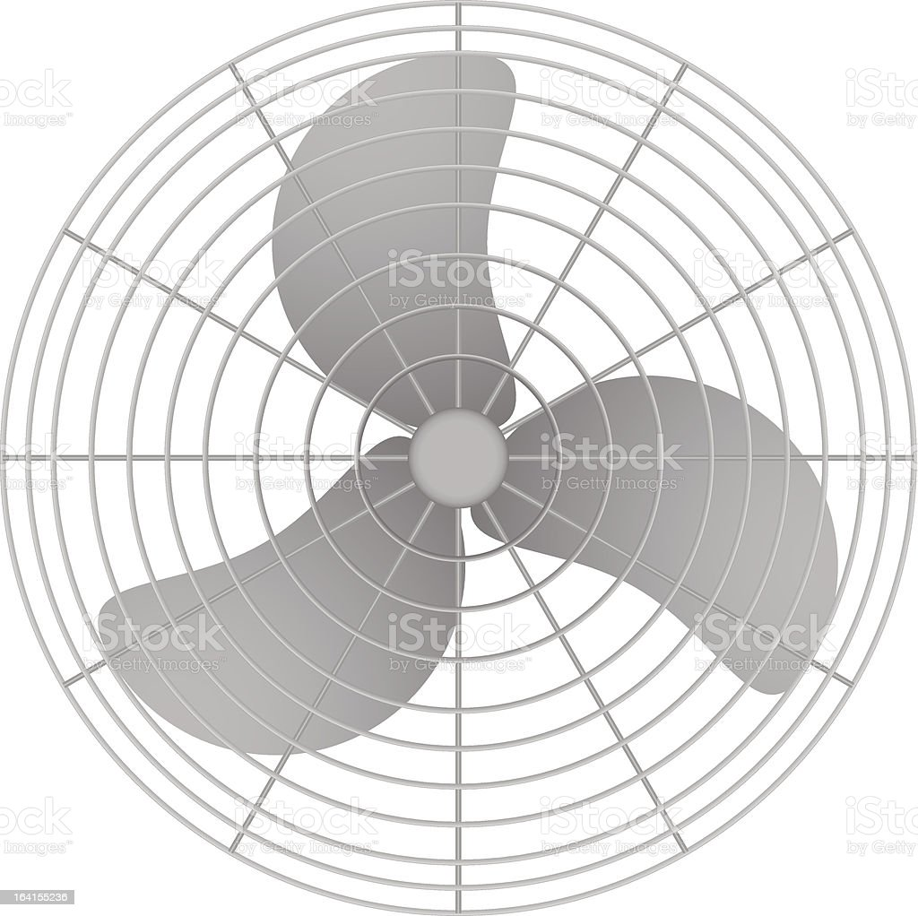 Oscillating Fan royalty-free stock vector art