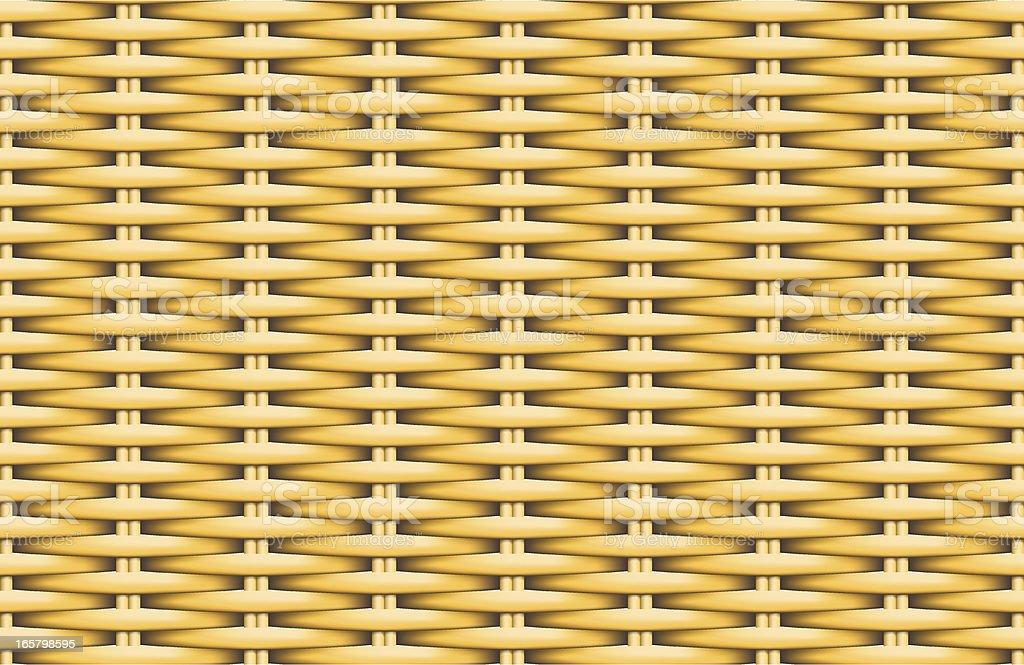 Osier Weave Seamless Pattern royalty-free stock vector art