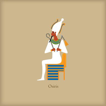 Osiris - God of the underworld icon