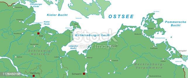 istock ostsee_karte_wasser_weiss 1126450195