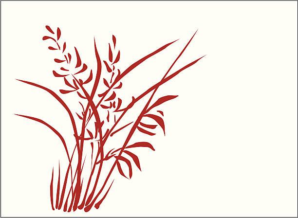 Otaru ( Vector ) Traditional calligraphy art.  svg stock illustrations