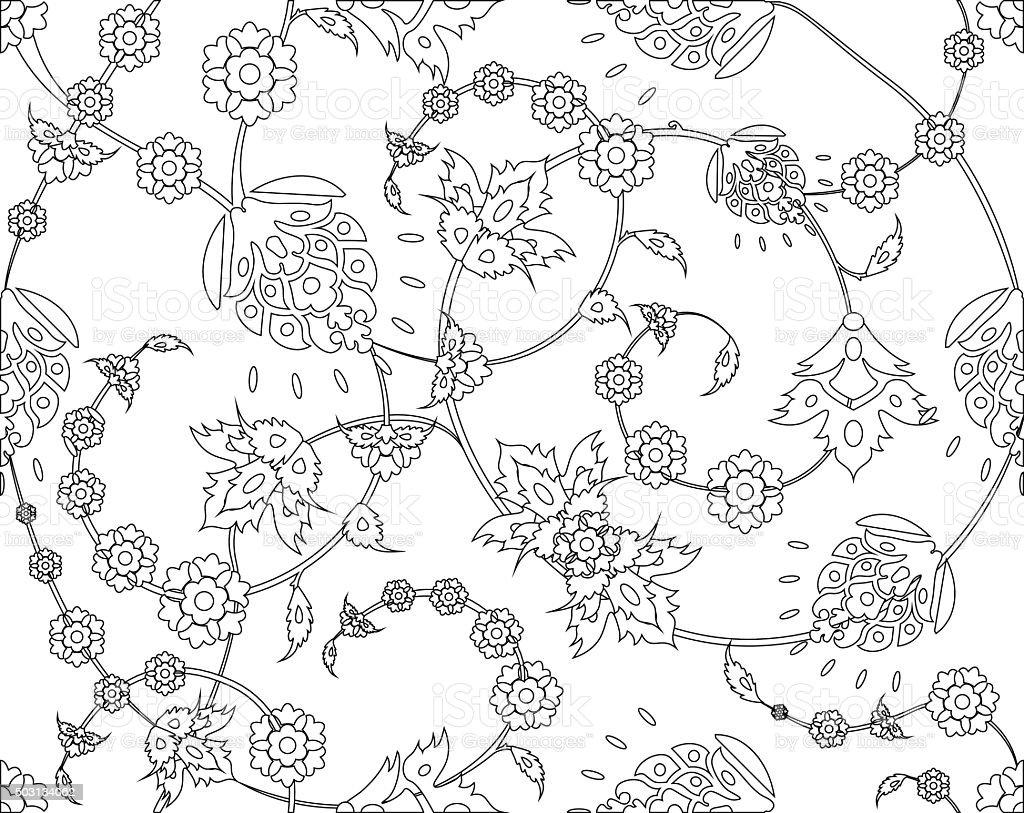 Ilustración de Patrón De Vector Diseño Otomana Turco y más banco de ...