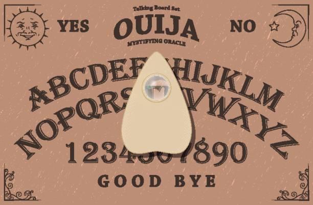 bildbanksillustrationer, clip art samt tecknat material och ikoner med ouija board - spain solar