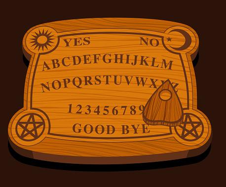 Ouija wooden Board
